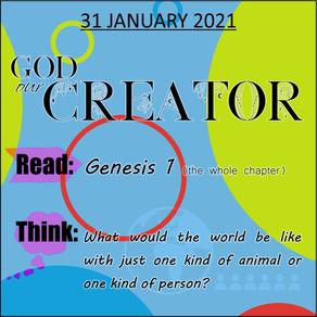 Youth bible study - 31 January 2021