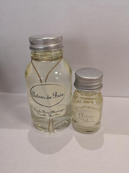 Huile de bain et/ou massage - Vanille bourdon
