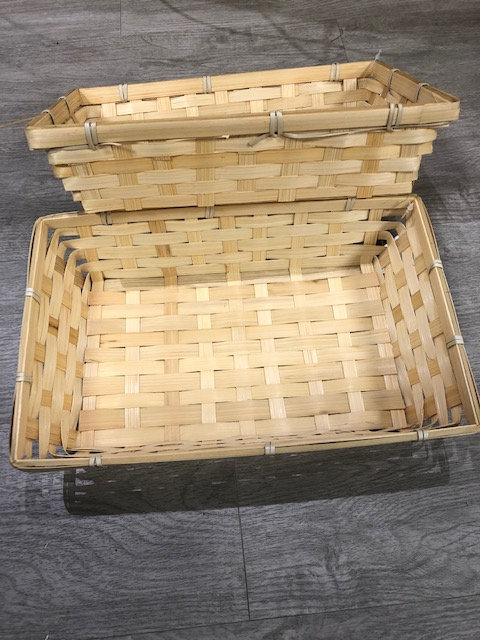 Paniers en bambou