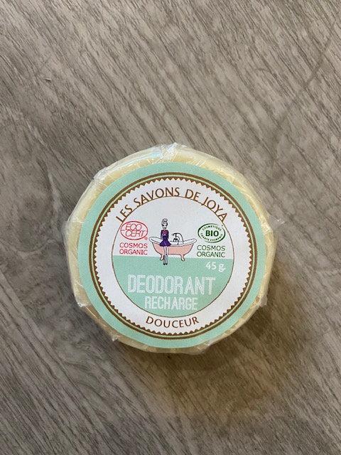 Recharge déodorant boite sans bicarbonate et sans HE - Les Savons de Joya