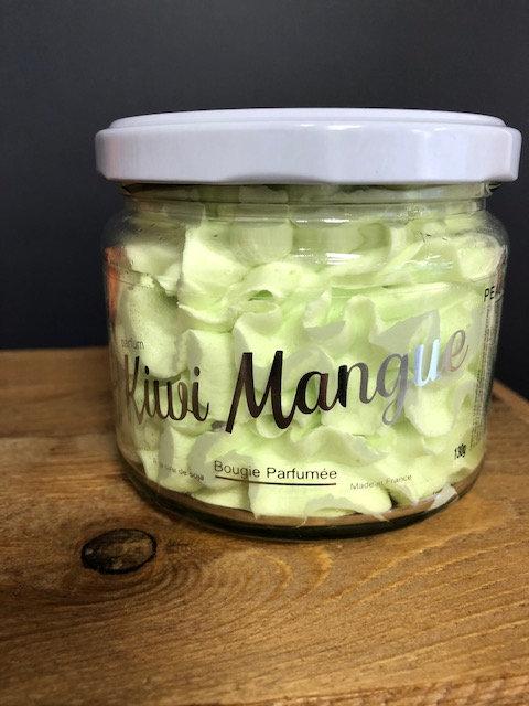 Bougie Peau d'Ane - Kiwi-Mangue