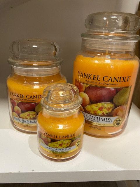 Jarres Yankee Candle - Mangue & Pêche