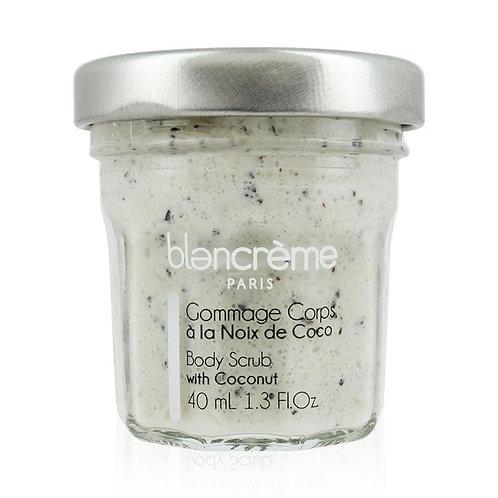 Gommage corps à la noix de coco - Blancrème