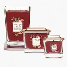 Bougie Collection Elevation Fruits Rouges de Noël - Yankee Candle