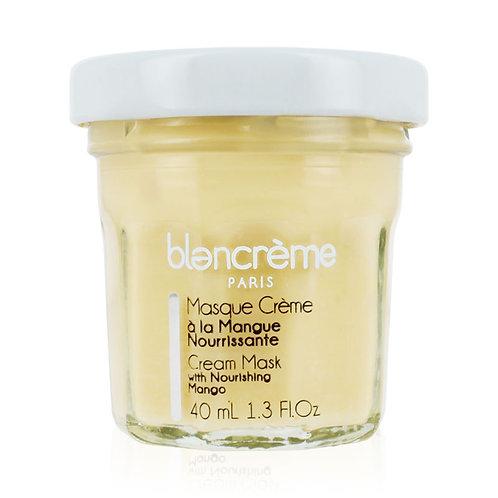 Masque crème visage à la mangue nourrissante - Blancrème