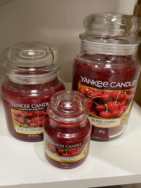 Jarres Yankee Candle - Cerise griotte