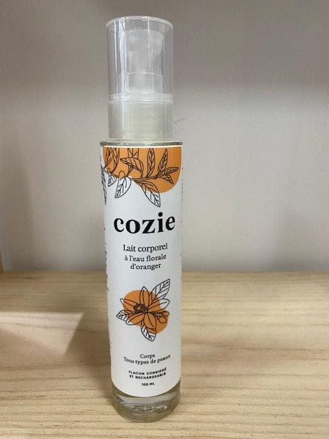 Lait corporel - à l'eau florale d'oranger - certifié COSMOS - Cozie