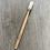 Thumbnail: Brosse à dents adulte en hêtre rechargeable - Caliquo