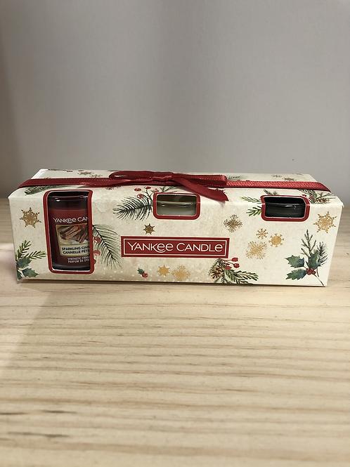 Coffret cadeau 3 miniatures Yankee Candle