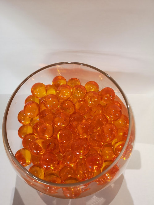 Perles de bain ronde - Orange