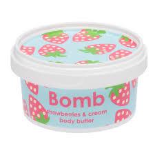 Crème hydratante Strawberries et cream - Bomb