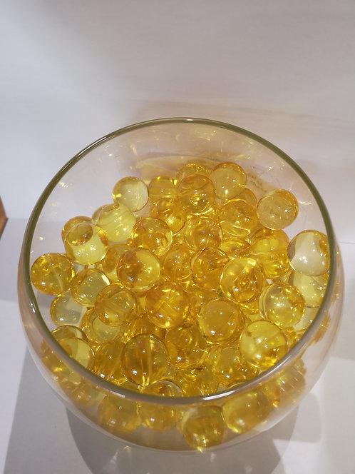 Perles de bain ronde - Citron