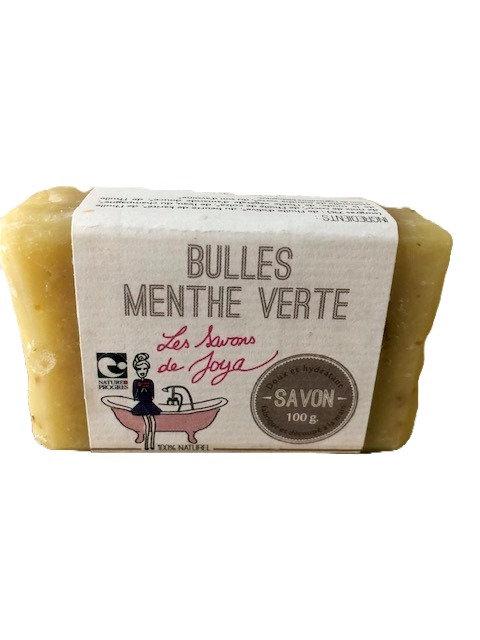 Savon Champagne-Menthe Verte - les savons de Joya