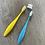 Thumbnail: Brosse à dents enfants en bioplastique - Caliquo