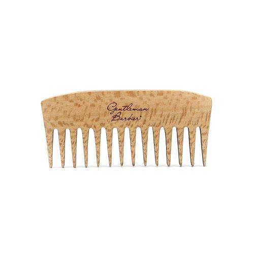Peigne à barbe en bois de platane