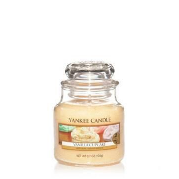 Jarres Yankee Candle - Gâteau à la vanille