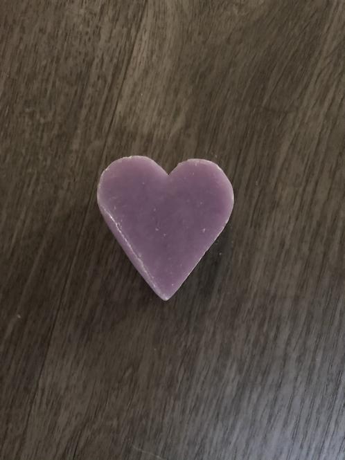 Mini savon de Marseille forme cœur - Savonnerie Le Serail