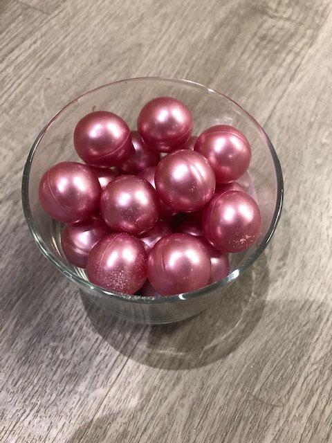 Perles de bain ronde - senteur Rose