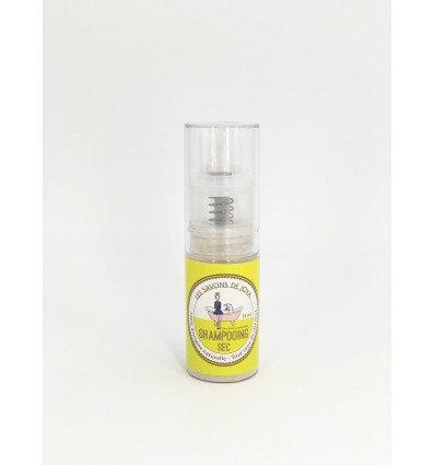Shampooing sec sans huiles essentielles
