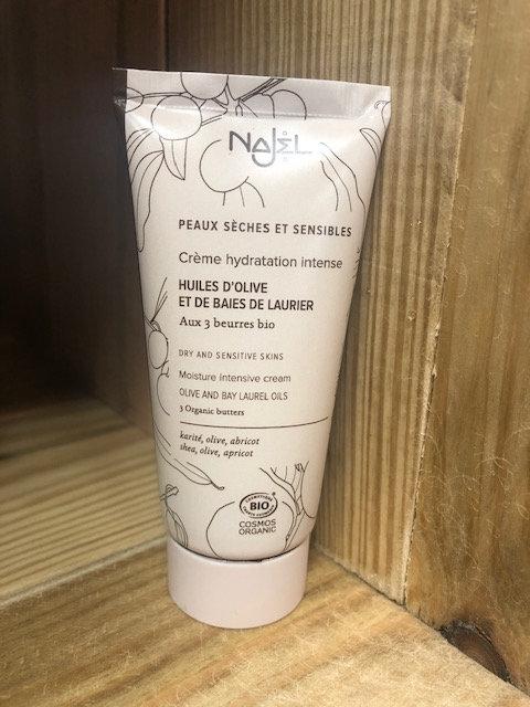 Crème hydratation intense - peaux sèches et sensibles - Najel
