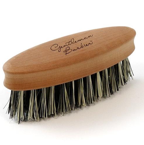 Brosse à barbe - bois de Poirier et fibre de cactus