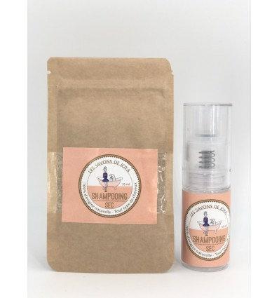 Recharge du shampooing sec aux huiles essentielles de pamplemousse