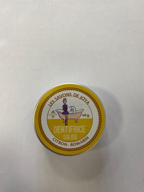 Dentifrice solide citron-romarin - les savons de joya