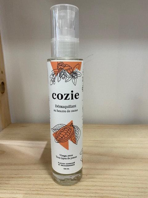 Lait démaquillant - au beurre de cacao - certifié COSMOS - Cozie