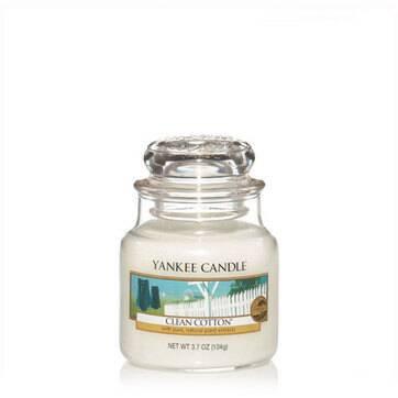 Jarres Yankee Candle - Coton Frais