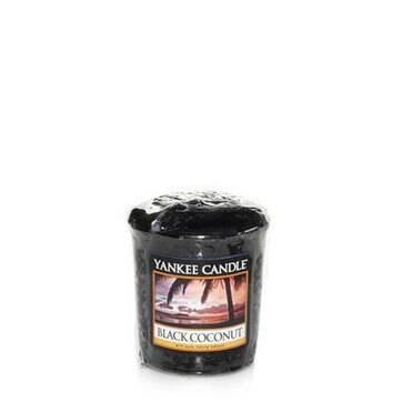 Votive Yankee Candle - Noix de coco noir