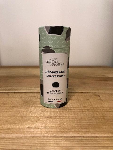 Déodorant solide charbon & eucalyptus - Les Petits Prödiges
