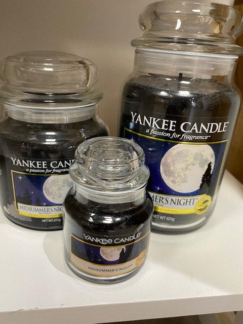 Jarre Yankee Candle - Nuit d'Ete