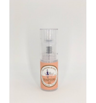 Shampooing sec aux huiles essentielles de pamplemousse