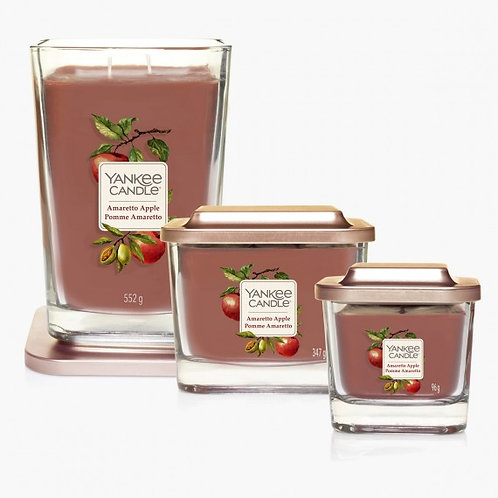 Bougie Collection Elevation Pomme Amaretto - Yankee Candle