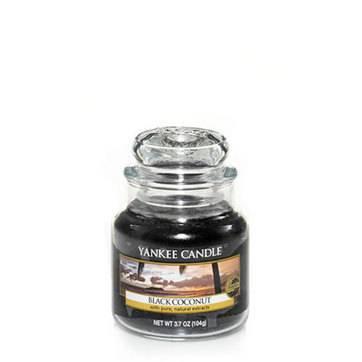 Jarres Yankee Candle - Noix de coco noir