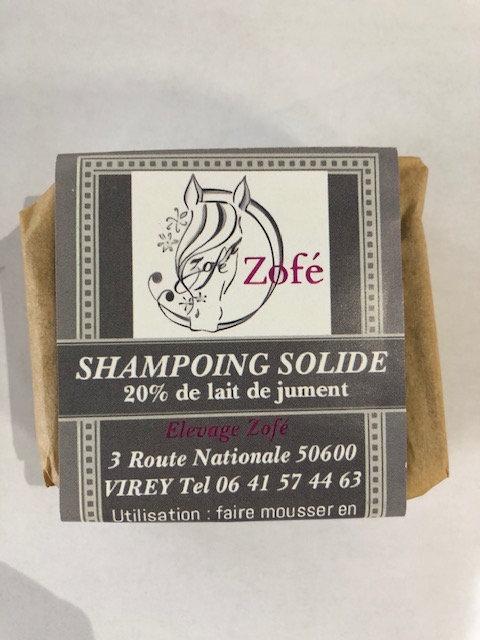 Shampooing solide au lait de jument