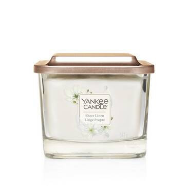 Bougie Collection Elevation Linge Propre - Yankee Candle