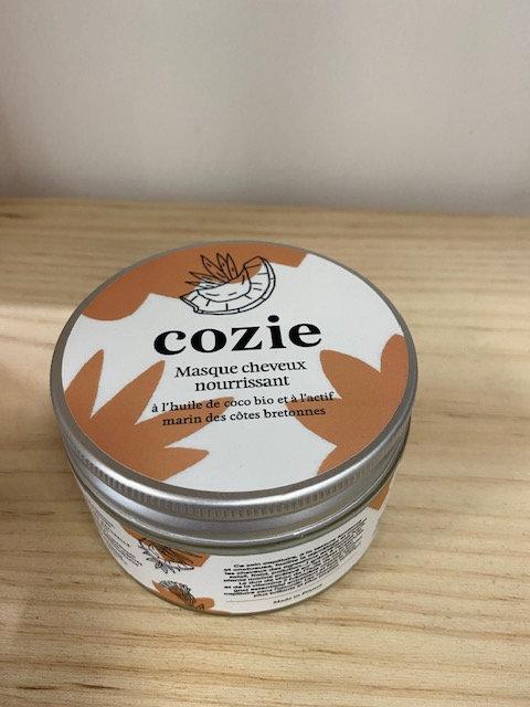 Masque cheveux nourrissant - certifié COSMOS - Cozie