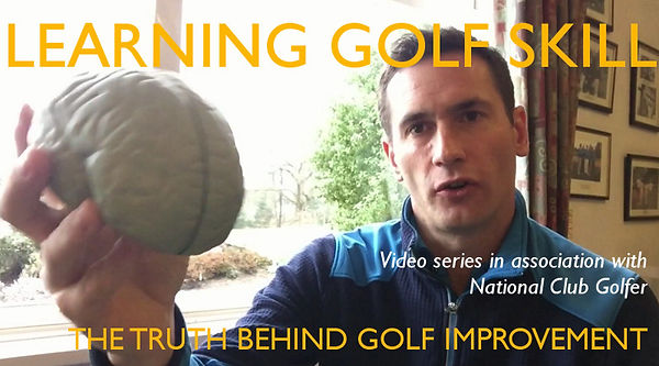 Learning golf skill video by Alex Nicolson.
