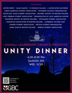 Unity Dinner