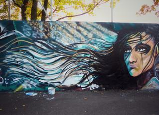 JR `s First Graffiti Wall!