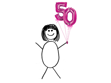 5 Things I Know at 50 that I Didn't Know at 40