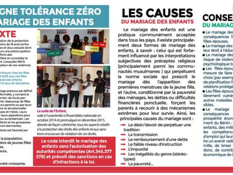 Report di progetto: un aggiornamento dal Benin.