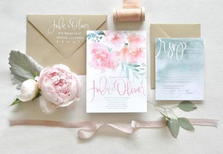 Свадебные приглашения: три тренда 2015