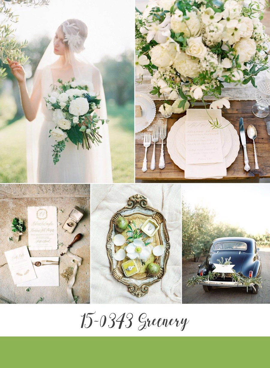 greenery свадьба 2017