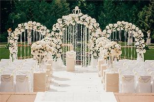 Оформление банкета, украшение ресторана на свадьбу, оформление зала на свадьбу