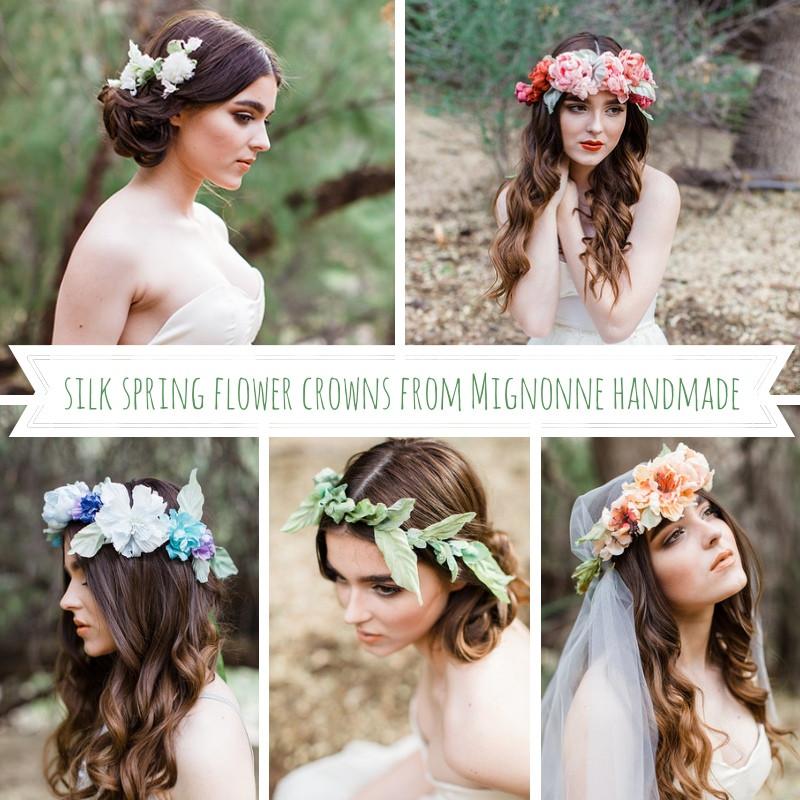венок из живых цветов для невесты Дмитров