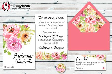 приглашение в весеннем стиле, приглашения весна заказать, свадьба весной приглашения