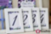 номера столов на свадьбу Дмитров