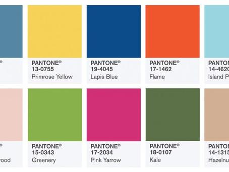 ТОП-10 цветов по версии Pantone весна-лето 2017